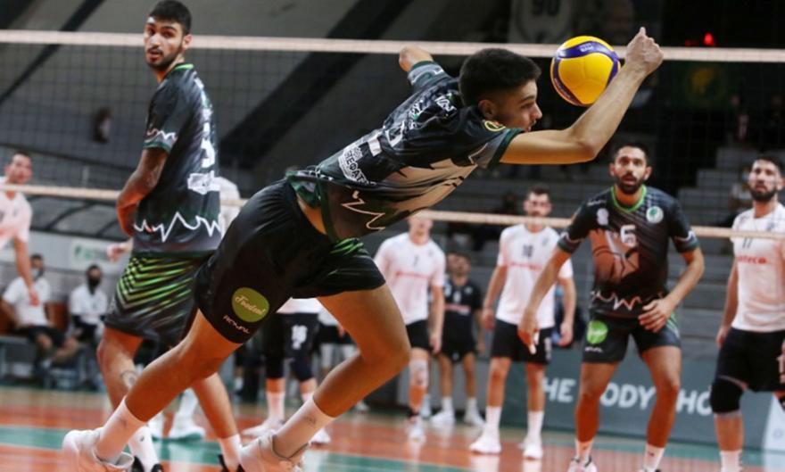 Volley League: Μίλωνας-ΠΑΟΚ 0-3