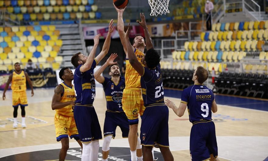 ACB: Γκραν Κανάρια-Ομπραντόιρο 75-85