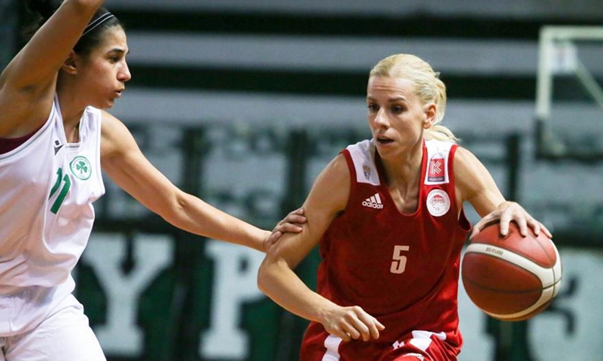 Μπάσκετ γυναικών: Παναθηναϊκός-Ολυμπιακός 62-61
