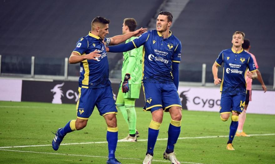 Serie A: Γιουβέντους-Βερόνα 1-1