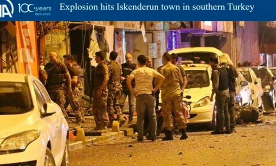 Δύο μαχητές νεκροί στη νότια Τουρκία έπειτα από ισχυρή έκρηξη