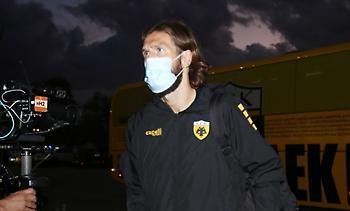 AEK: Πάλι εκτός προπόνησης ο Τσιγκρίνσκι