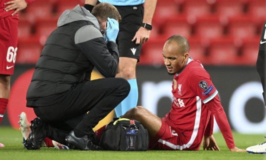 Φαμπίνιο: Τραυματίστηκε και έγινε αλλαγή