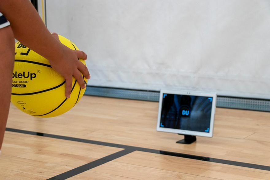 Η εφαρμογή που απογειώνει την ατομική προπόνηση στο Eurohoops Dome