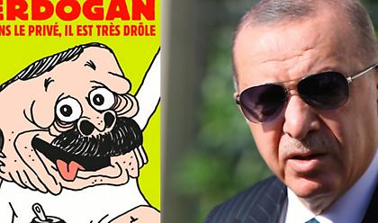 Έξαλλη η Άγκυρα με τη σάτιρα του Charlie Hebdo σε βάρος του Ερντογάν