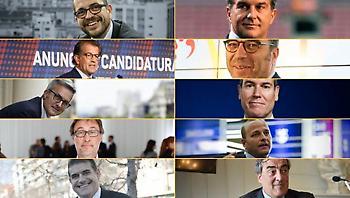 Μπαρτσελόνα: Τουλάχιστον πέντε υποψήφιοι για την προεδρία