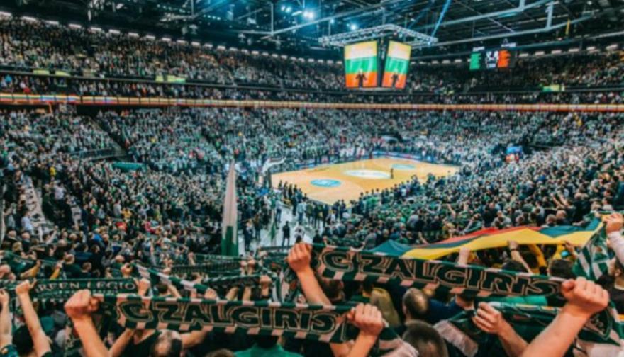 Eυρωλίγκα: Μάξιμουμ 300 οπαδοί στα ματς της Ζαλγκίρις