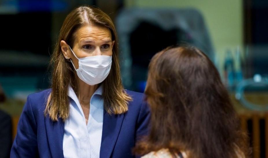 Κορωνοϊός: Βγήκε από την εντατική η υπουργός Εξωτερικών του Βελγίου