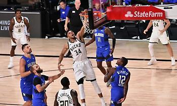 NBA: Απίστευτο Τοπ-50 από τη «φούσκα» με Γιάννη και Ντέιβις στην κορυφή (Video)