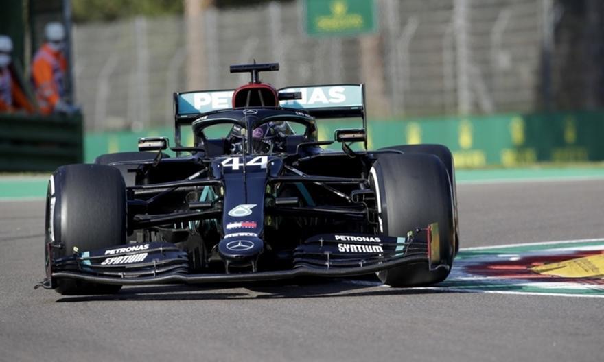 Formula 1: Πρώτος στις ελεύθερες δοκιμές της Ίμολα ο Χάμιλτον