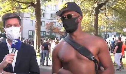 Εντοπίστηκε ο άντρας της «ομελέτας με τυρί» που έγινε viral (video)