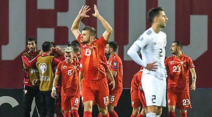 Ιστορική πρόκριση στο Euro για Βόρεια Μακεδονία!