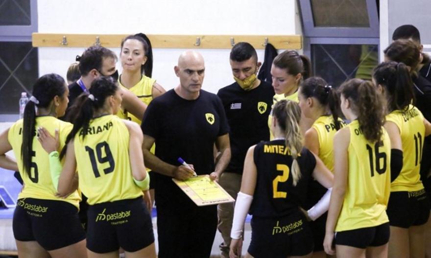 Κοινή ανακοίνωση των βολεϊμπολιστριών της ΑΕΚ για τη Volley League