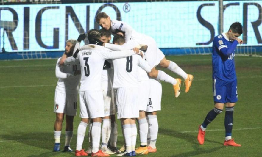 Βοσνία-Ιταλία 0-2