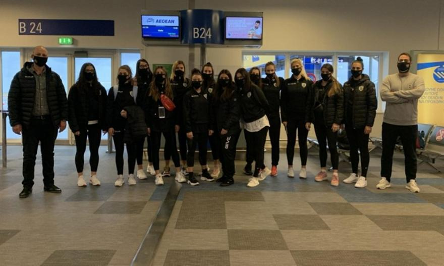 Εφτασε Μάλτα η γυναικεία ομάδα χάντμπολ του ΠΑΟΚ