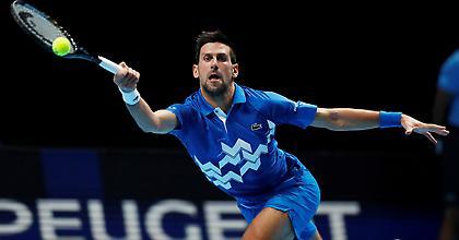 Έκλεισε εισιτήριο για τα ημιτελικά του ATP Finals ο Τζόκοβιτς