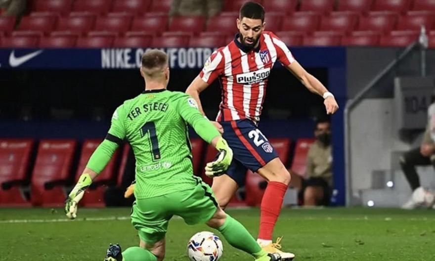 Ατλέτικο Μαδρίτης-Μπαρτσελόνα 1-0
