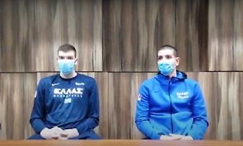 Ρογκαβόπουλος και Φλιώνης για την κλήση τους στην Εθνική (video)