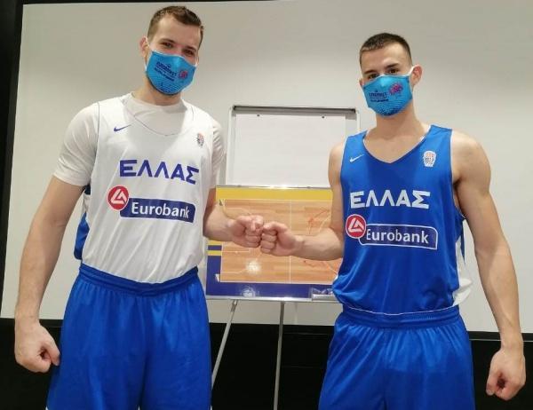 Γιάννης και Δημήτρης Αγραβάνης: «Τιμή να είμαστε στην Εθνική»