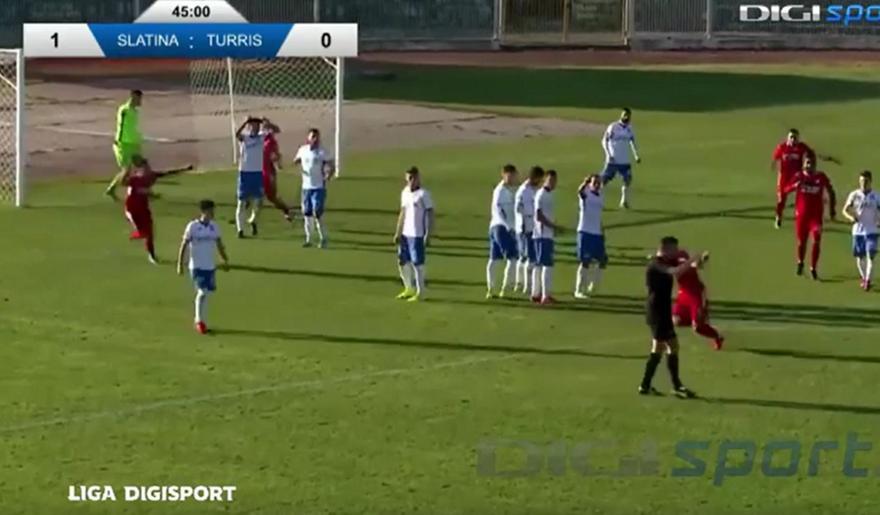 Απίστευτο σκηνικό στη Ρουμανία:Διαιτητής ακύρωσε γκολ για... ημίχρονο