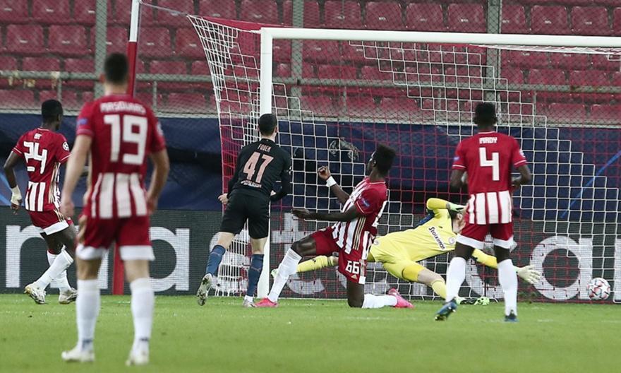 Ολυμπιακός-Σίτι 0-1: Τα highlights του αγώνα