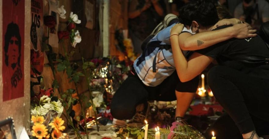 Μαραντόνα: Θρήνος στους δρόμους του Μπουένος Άιρες!
