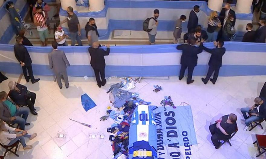 Μαραντόνα: Το τελευταίο «αντίο» από τον λαό της Αργεντινής