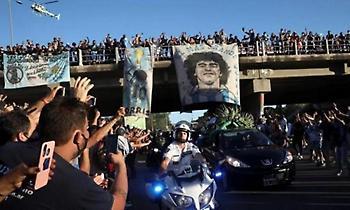 Η Αργεντινή «αποχαιρέτησε» τον Θεό της