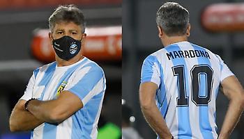 Βραζιλιάνος προπονητής τίμησε τον Ντιέγκο φορώντας τη φανέλα του (pic)