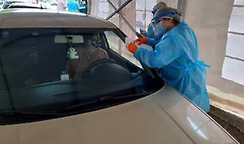 ΕΟΔΥ: Συνολικά 61 κρούσματα σε 1.409 rapid test μέσω drive through