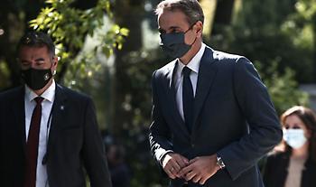 Στη Θεσσαλονίκη ο πρωθυπουργός Κυριάκος Μητσοτάκης