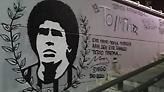 Γκράφιτι του Μαραντόνα στην Τούμπα!
