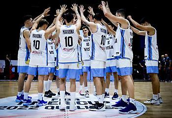 Με φανέλα Μαραντόνα η εθνική μπάσκετ Αργεντινής (pic)