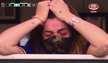 Στο γήπεδο η κόρη του Ντιέγκο, ξέσπασε σε λυγμούς στην αφιέρωση της Μπόκα