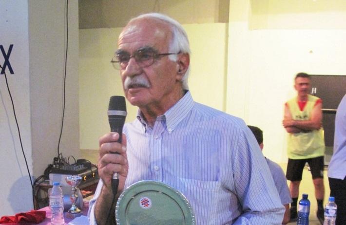 «Έφυγε» ο αντιπρόεδρος της ΕΣΚΑΝΑ, Κυριάκος Τσίχλας