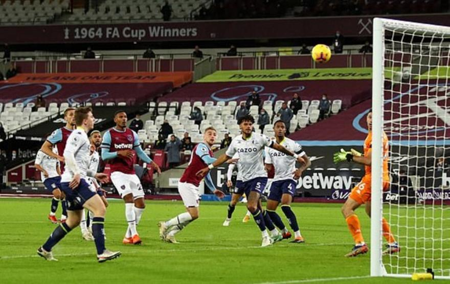 Premier League: Γουέστ Χαμ-Άστον Βίλα 2-1