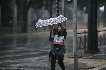 Καιρός: Παγωνιά με βροχές και καταιγίδες