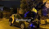 Θεσσαλονίκη: Έκαψαν εταιρικό αυτοκίνητο στην Άνω Πόλη