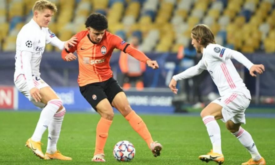 Σαχτάρ Ντόνετσκ-Ρεάλ Μαδρίτης 2-0