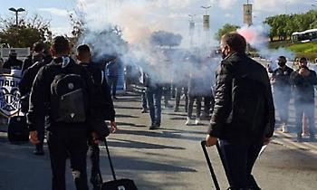 Αποθέωση για ΠΑΟΚ και Γκαρσία στην Κύπρο (video)