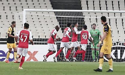 Σοκαριστικό ξεκίνημα για την ΑΕΚ: 2-0 από το 9' η Μπράγκα