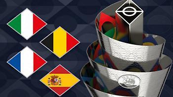 Αυτά είναι τα ζευγάρια του Final Four του Nations League