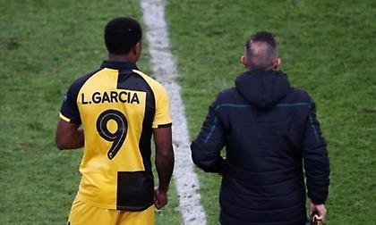 Γκαρσία: «Δε μας βγήκε το ματς, κοιτάμε το επόμενο»