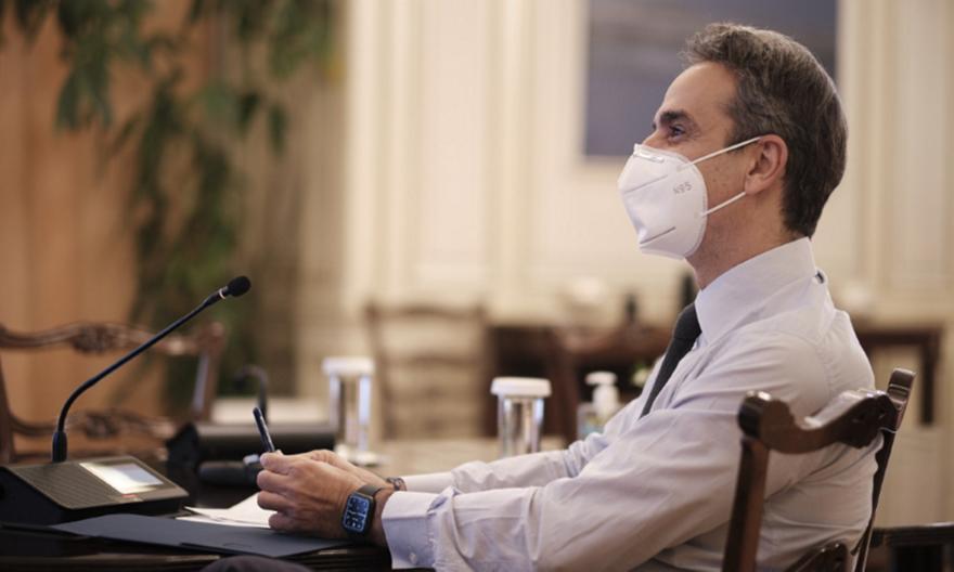 Κορωνοϊός: Τηλεδιάσκεψη υπό τον Πρωθυπουργό για τους εμβολιασμούς