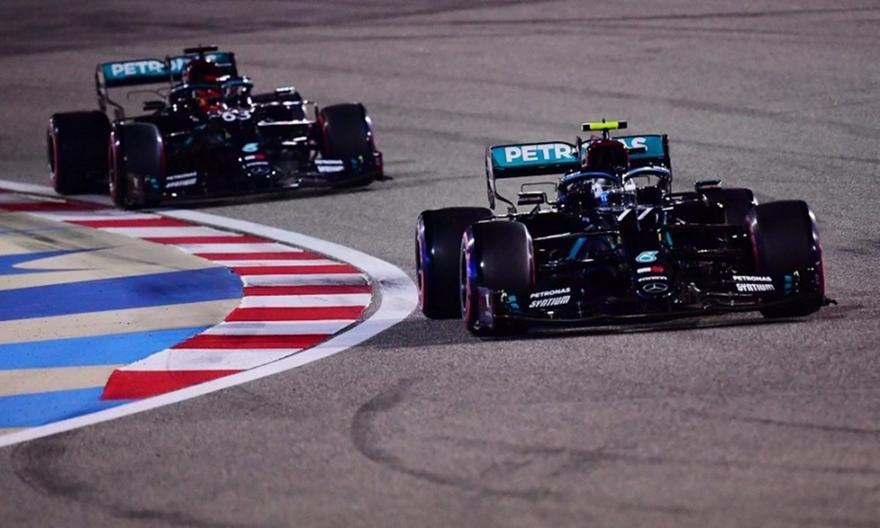 F1: Pole position ο Μπότας, 1-2 η Mercedes