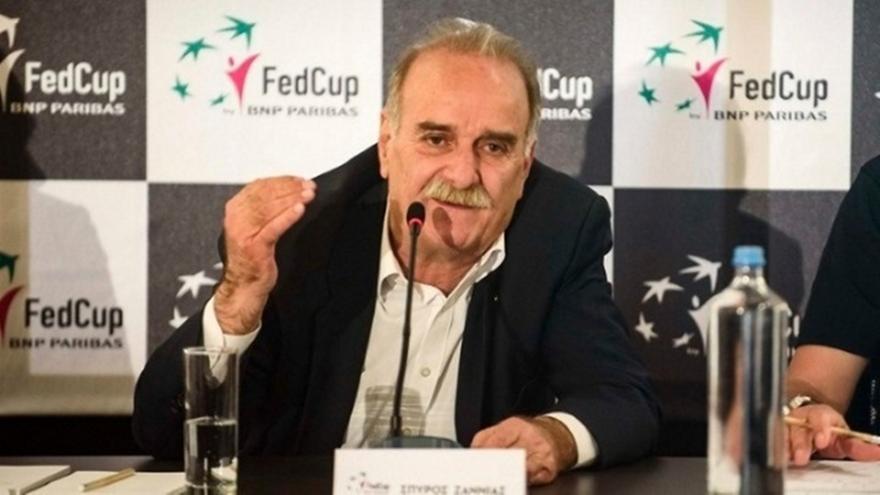 Αντιπρόεδρος της Ευρωπαϊκής Ομοσπονδίας Τένις ο Σπύρος Ζαννιάς