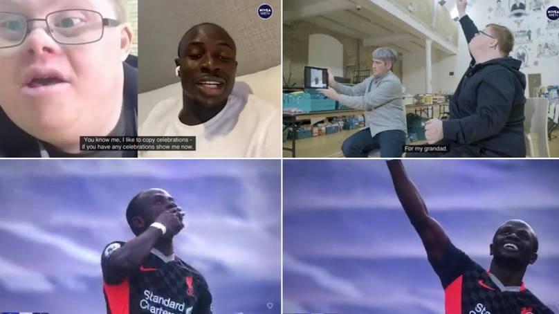 Ο Μανέ αφιέρωσε το γκολ του στον εκλιπόντα παππού φίλου της Λίβερπουλ