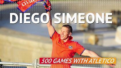 Συμπληρώνει 500 ματς ο Σιμεόνε