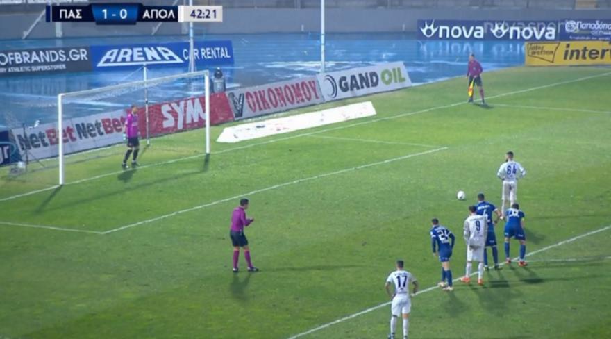 ΠΑΣ Γιάννινα-Απόλλων: 1-1 με πέναλτι του Φατιόν (video)