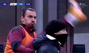 Ιμπραΐμοβιτς: Ασκήσεις... καράτε στην προθέρμανση της Μίλαν!